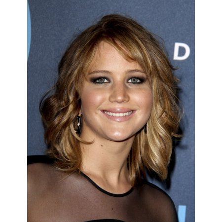 Jennifer Lawrence At Arrivals For 24Th Annual Glaad Media Awards La Canvas Art     16 X 20