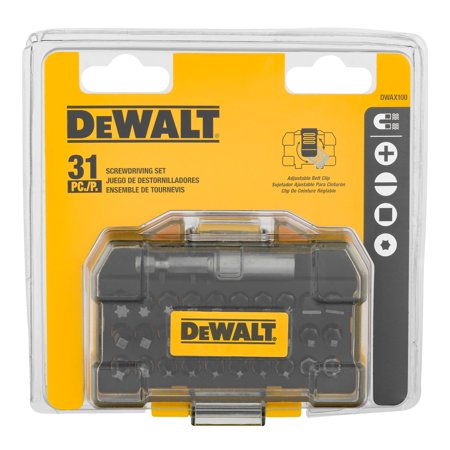 DeWalt Screwdriving Set - 31 PC, 31.0 PIECE(S)