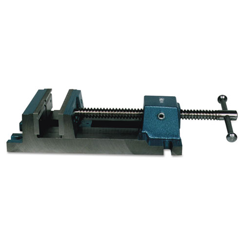 Heavy-Duty Drill-Press Vise Station, 6in Jaw