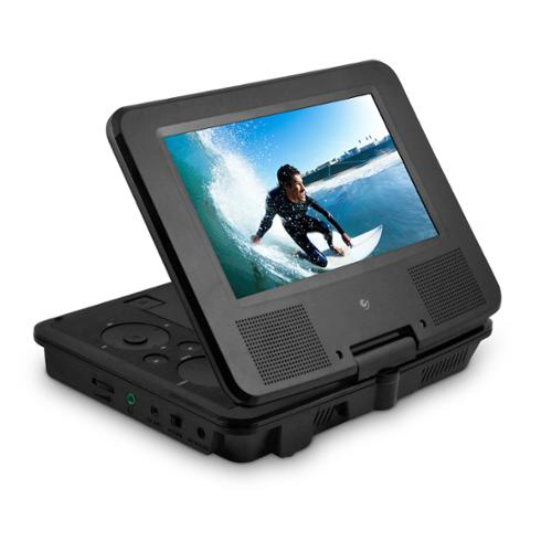 "XO Vision EPD707BL Ematic Epd707bl 7"" Portable Dvd Player Bundle [black]"