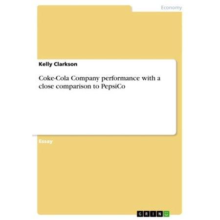 Coke-Cola Company performance with a close comparison to PepsiCo -
