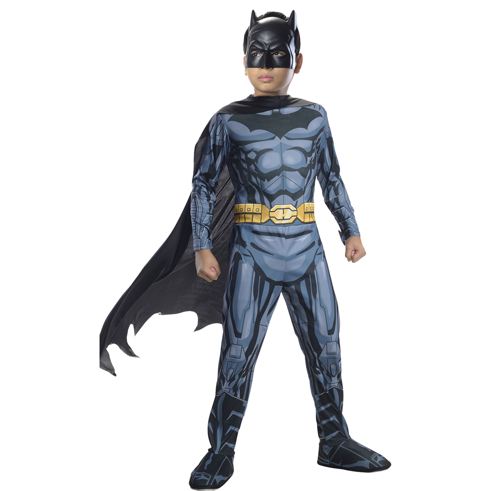Morris Costumes Boys Batman Child Medium, Style RU881297MD