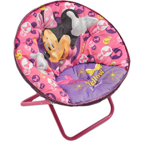 Minnie Mouse Saucer Chair by Generic