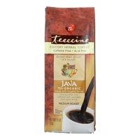 Teeccino Chicory Herbal Coffee Alternative, Java 75% Organic, 11 Oz