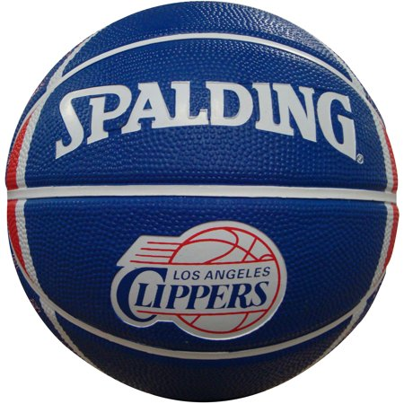 """Spalding NBA 7"""" Mini Basketball, Los Angeles Clippers by"""