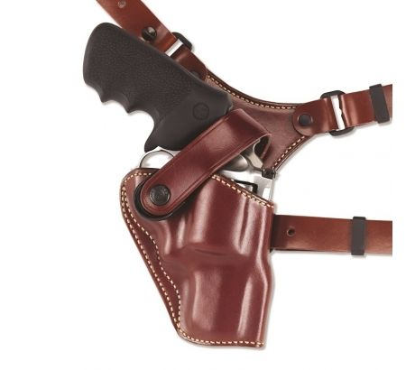 Galco Great Alaskan Shoulder Holster System,Tan,Colt SAA 4 3 4in,Ruger Blackhawk by Galco