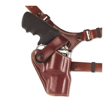 Galco Great Alaskan Shoulder Holster System,Tan,Colt SAA 4 3/4in,Ruger