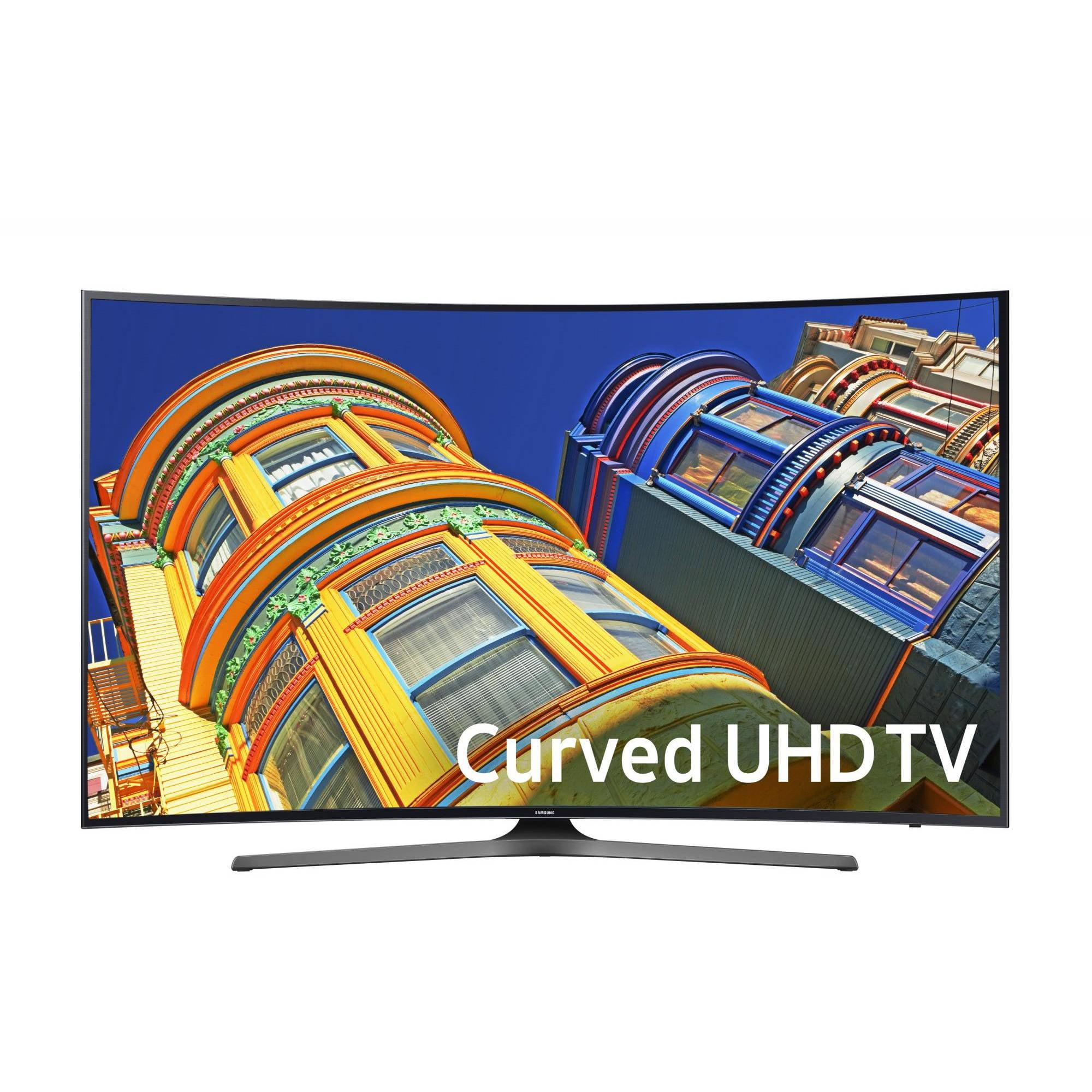 """SAMSUNG 55"""" 6500 Series - Curved 4K Ultra HD Smart LED TV - 21600p,120MR (Model#:UN55KU6500)"""