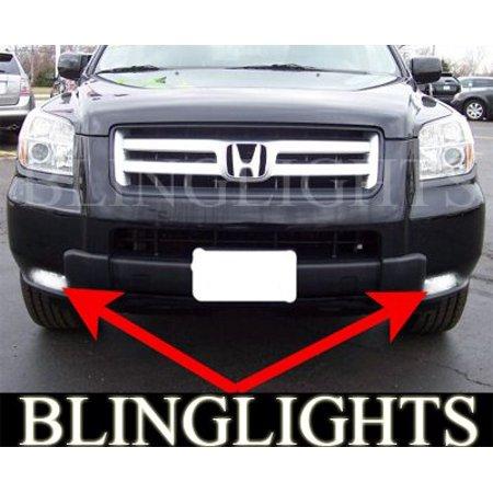 2006 2007 2008 Honda Pilot Xenon Fog Lamps Driving Lights Foglamps Foglights drivinglights kit (Pilot Driving Lights)