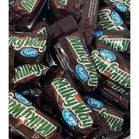 Milky Way Fun Size Chocolate Bars, 2 pounds bag