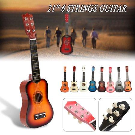 Red Classic Guitar - 21
