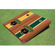 Baylor University Bear Rosewood Alternating Long Stripe Cornhole Boards