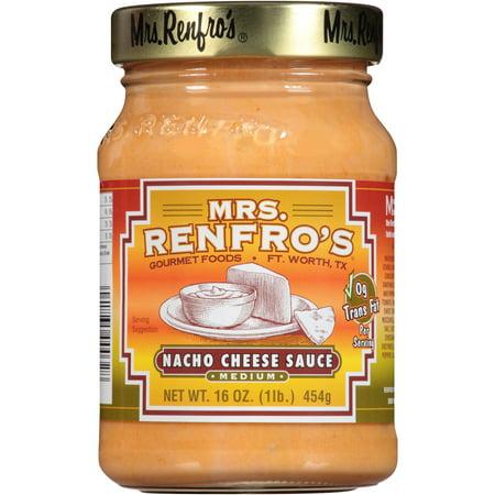 Mrs. Renfro's Medium Nacho Cheese Sauce, 16 oz