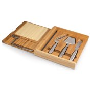 TOSCANA Soirée Cheese Cutting Board & Tools Set with Wire Cutter