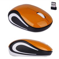 Cute Mini 2.4 GHz Wireless Optical Mouse Mice For PC Laptop Notebook Purple