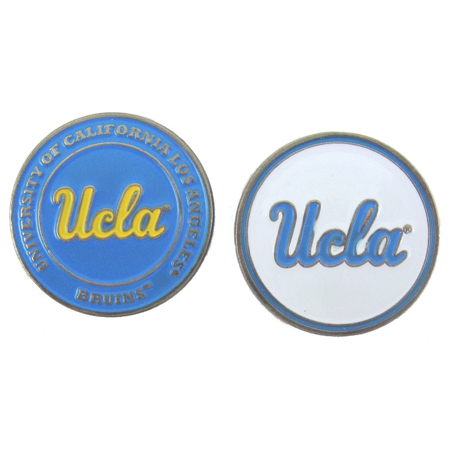 UCLA Bruins Double Sided Golf Ball Marker, UCLA Bruins Ball Marker By Waggle Pro Shop,USA
