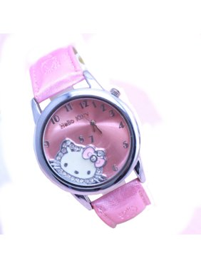 Active Disney Brand Frozen Girl Watches Children Girls Wristwatches Quartz Cartoon Genuine Leather Waterproof Number Citizen Movement Latest Technology Watches