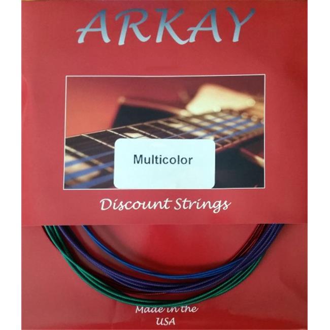 Arkay Discount RK. A12M Premium Acoustic 12 Gauge Guitar Strings Light, Multi by