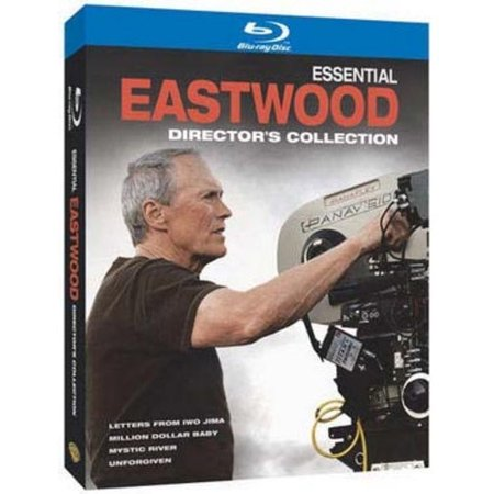 Essential Eastwood  Directors Collection   Letters From Iwo Jima   Million Dollar Baby   Mystic River   Unforgiven  Blu Ray   Widescreen