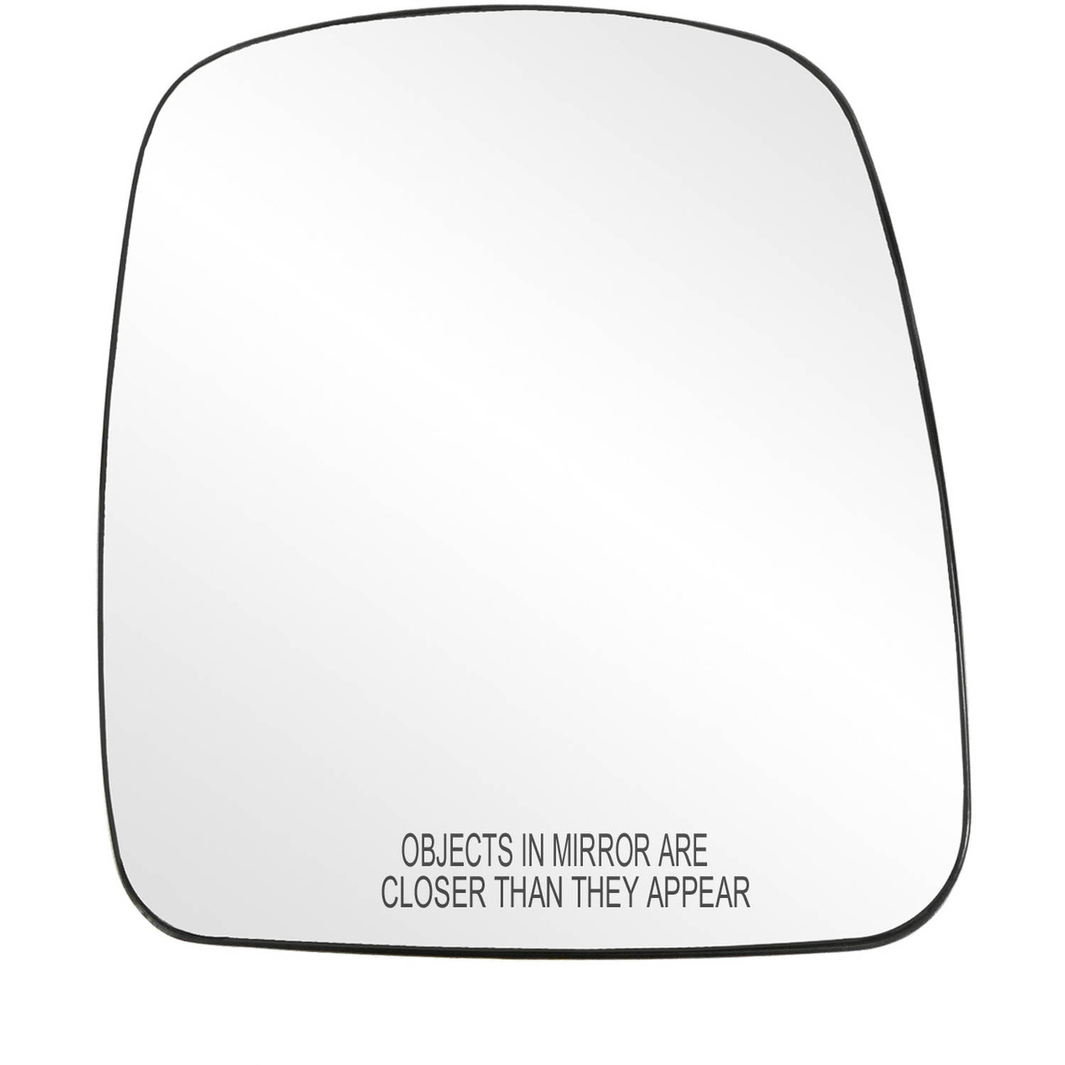 Fit System 60155C Jeep Liberty Passenger Side Replacement Convex Mirror