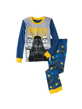 Boy's Star Wars Glow in the Dark 2 Piece Pajama Sleep Set (Big Boys & Little Boys)