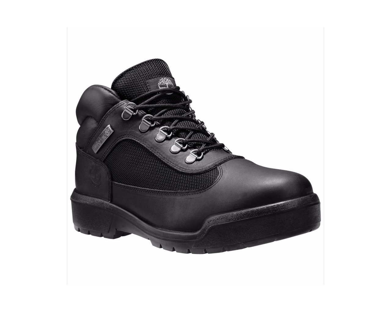 Men's Timberland Black Waterproof Field Boots by Timberland