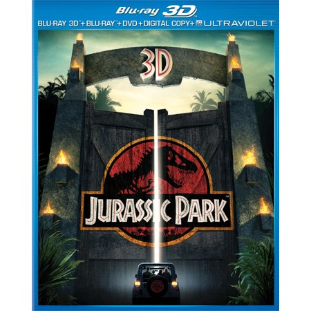 Jurassic Park (3D Blu-ray + Blu-ray + DVD + Digital Copy + Ultraviolet)](Peck Park Halloween)