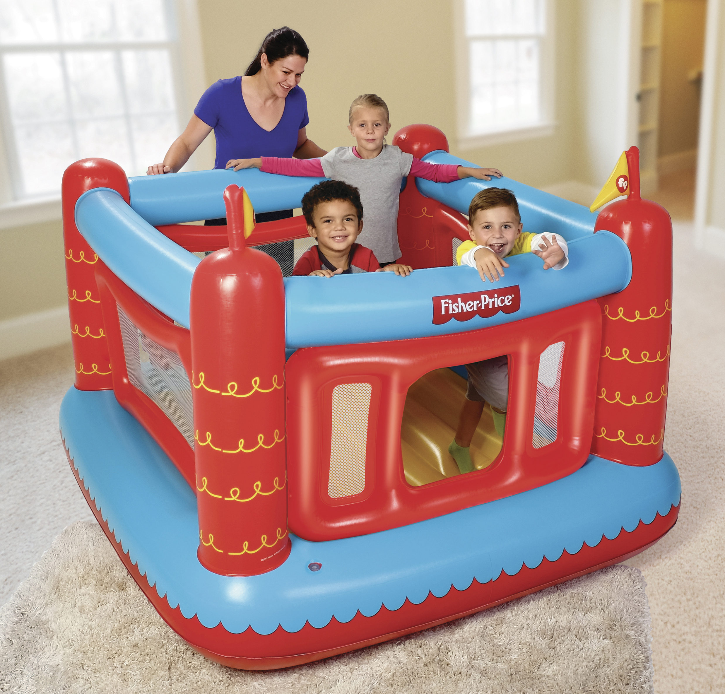 "Fisher-Price Bouncetastic Bouncer 69"" x 68"" x 53"""