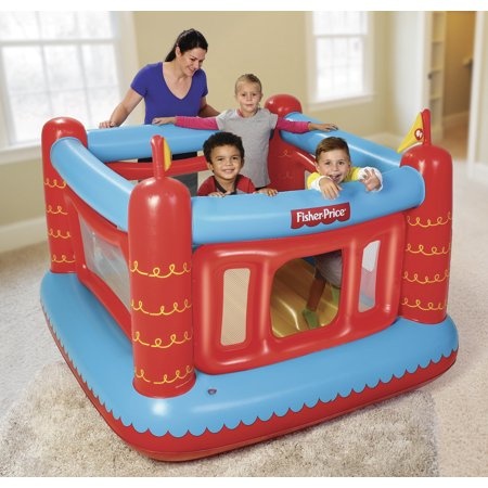 Fisher-Price 69u0022 x 68u0022 x 53u0022 Bouncetastic Bouncer