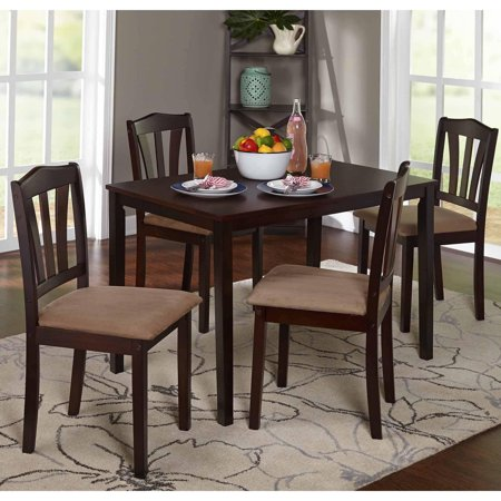 (Metropolitan 5-Piece Dining Set, Multiple Colors)