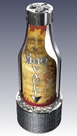 Vino Vault Wine Bottle Puzzle Brain Teaser by