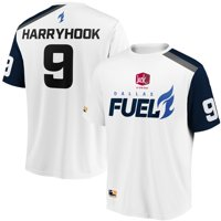 HarryHook Dallas Fuel Overwatch League Replica Away Jersey - White