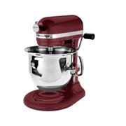 KitchenAid Professional 600 Series RRKP26M1XBX Bowl-Lift Stand Mixer, 6 Quart, Bordeaux (CERTIFIED REFURBISHED)