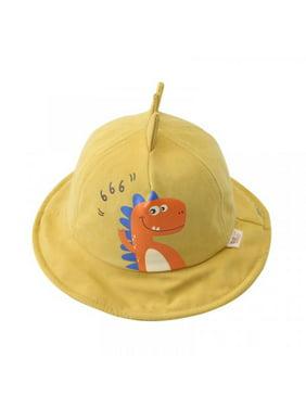 Topumt Kids Cute Cartoon Printing Bucket Hat