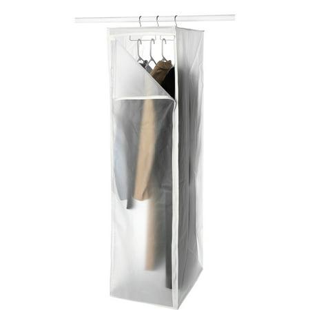 Whitmor peva hanging garment closet walmartcom for Whitmor document boxes set of 5
