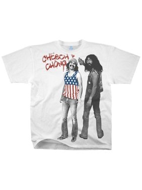 f585158f9 Product Image Cheech & Chong-American Stoners (Slim Fit) Apparel T-Shirt -  White
