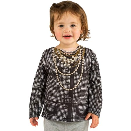 Toddler Houndstooth Jacket Costume Shirt