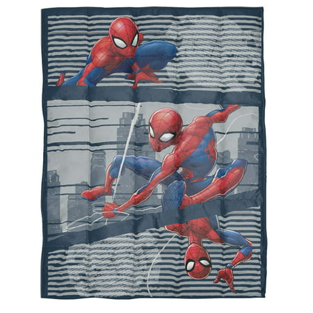 Spiderman Kids Weighted Blanket, 4.5 lb, 36u0022 x 48u0022