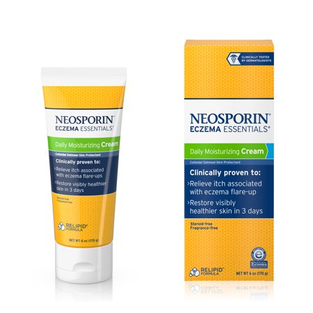 Neosporin Eczema Essentials Daily Moisturizing Cream  6 Oz