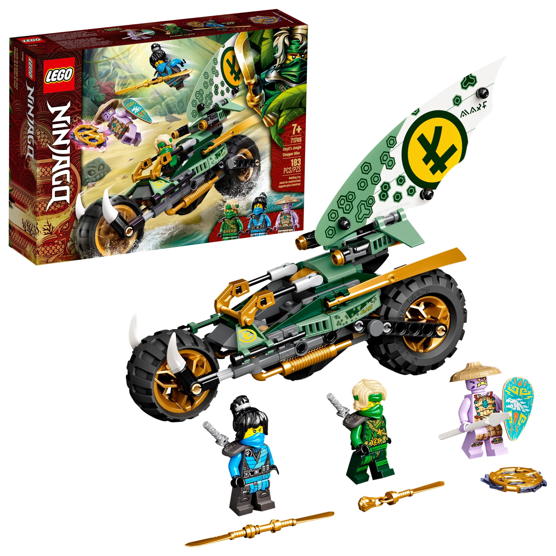 LEGO NINJAGO Lloyd's Jungle Chopper Bike 71745 Building ...