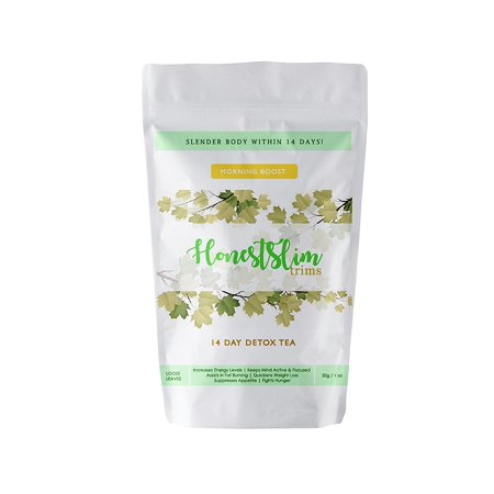 New HOT Seller HonestSlim Trim 14 days slender body lose Detox tea Honestslim 14 Day Detox Tea- Morning Tea- 100% Organic Weight Loss, Boost Energy, Improve Immunity and Digestive Discomfort Relief