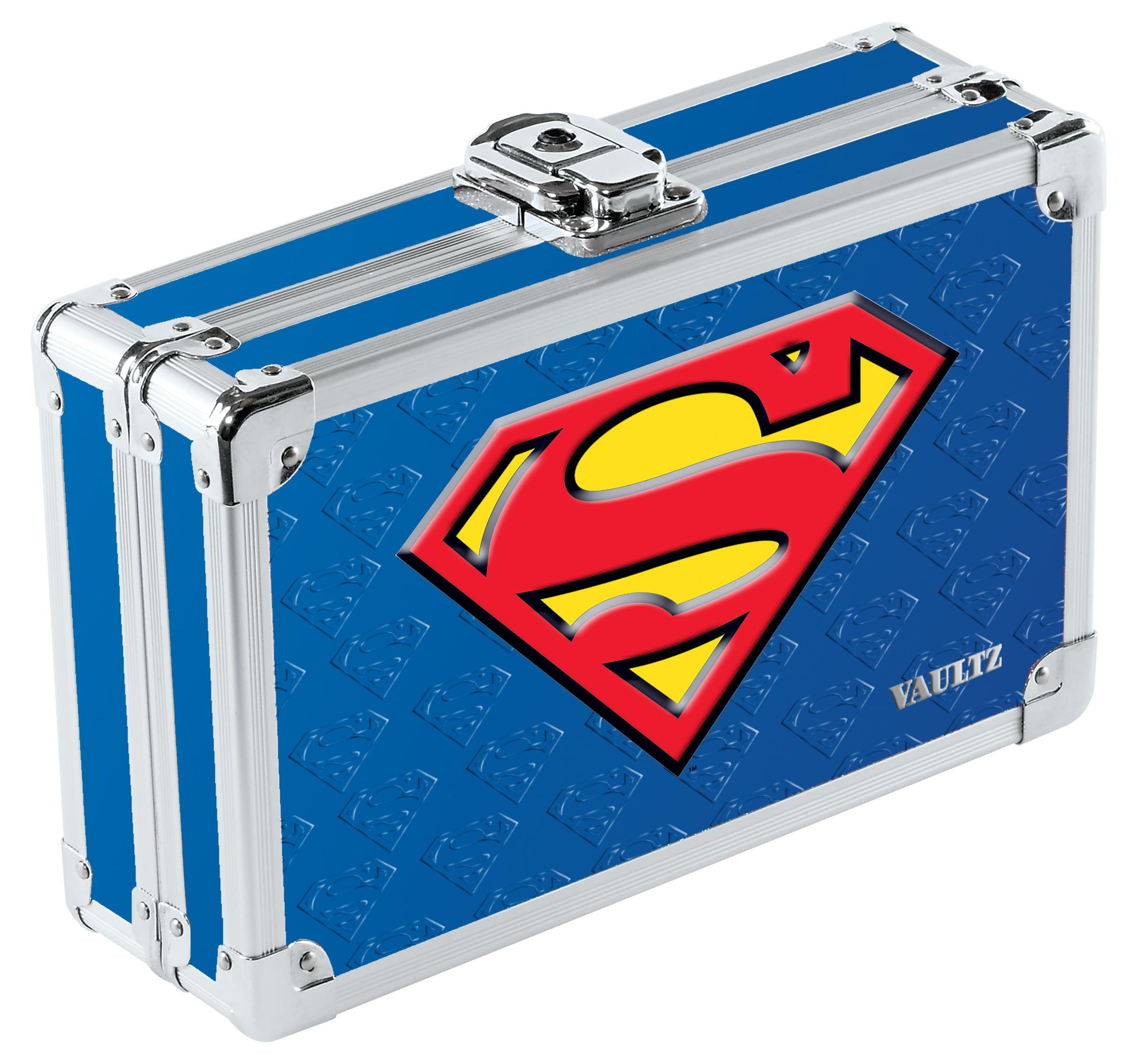 Vaultz Pencil Box - Blue Superman
