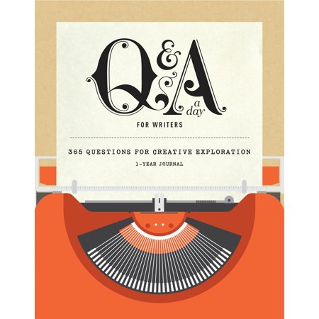 Q&A a Day for Writers : 1-Year Journal (Boot Gift)