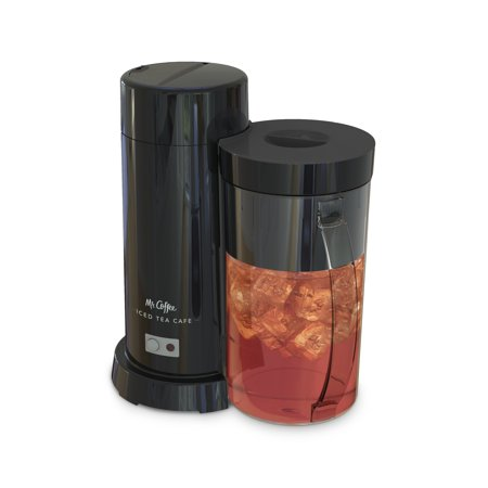Mr. Coffee 2 Quart Black Iced Tea & Iced Coffee Maker ...