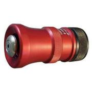 MOON AMERICAN 541-1014 Nozzle With Shut Off,1 In,Rigid,Aluminum