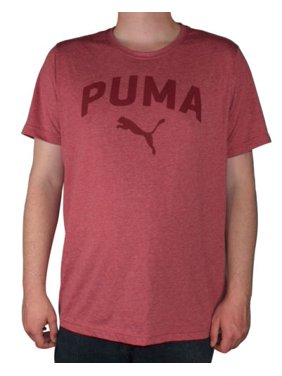 eac08a9b6dc Product Image Men's Authentic Puma Crew Neck Dry Cell Retro Heather Logo T- Shirt Assted Colors