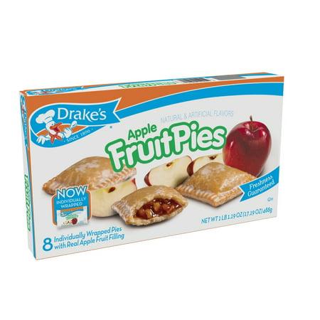 Drake's Apple Fruit Pies (3-Boxes)