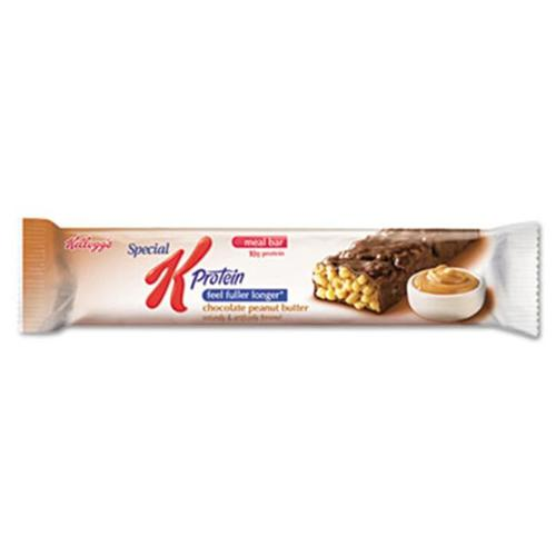 Keebler 29190 Special K Protein Meal Bar, Chocolate/Peanut Butter, 1. 59 oz, 8/Box