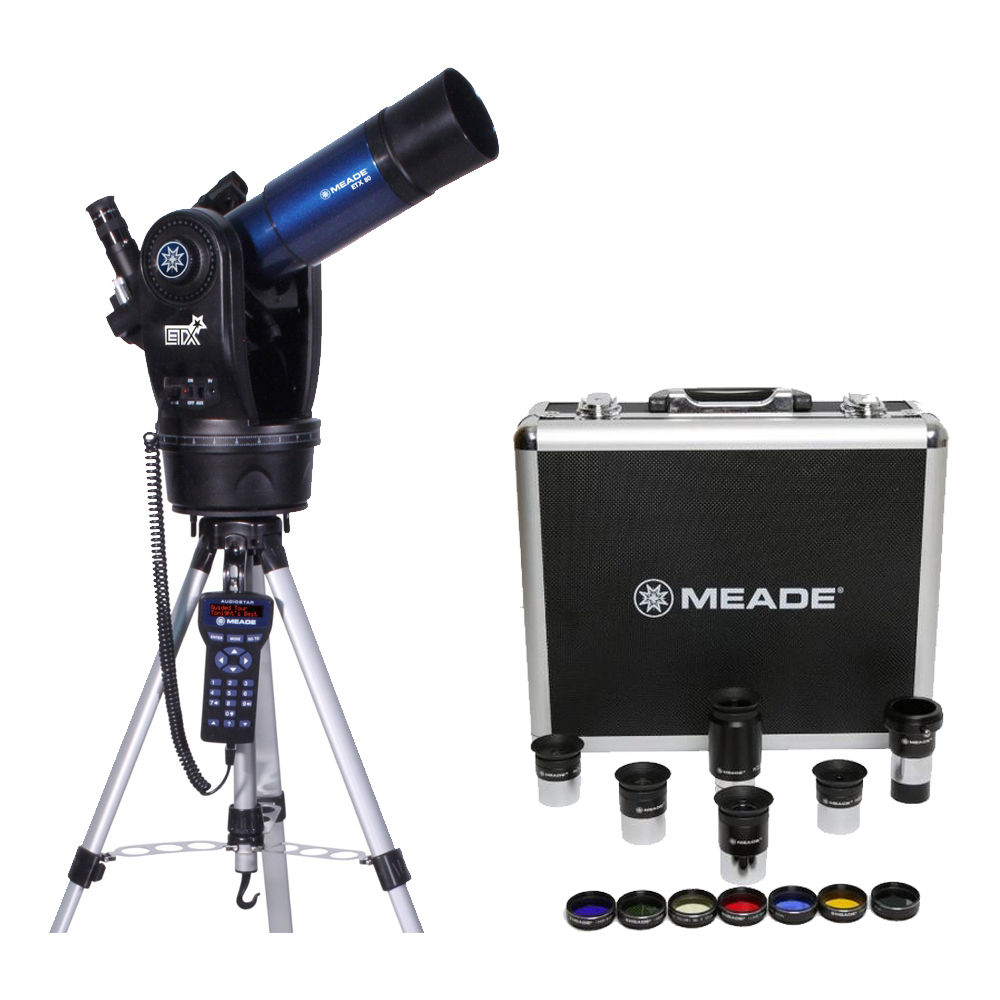 Meade ETX80 Observer Telescope w  Eyepieces & Filters Set Kit by Meade
