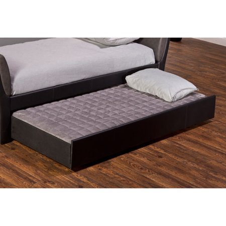 Hillsdale furniture natalie faux leather daybed with for Affordable furniture 6496 redland